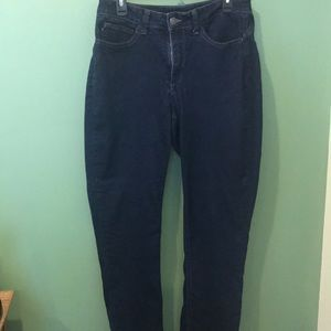 Lee easy fit dark blue jeans